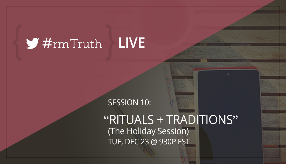 #rmTruth LIVE - Session 10:
