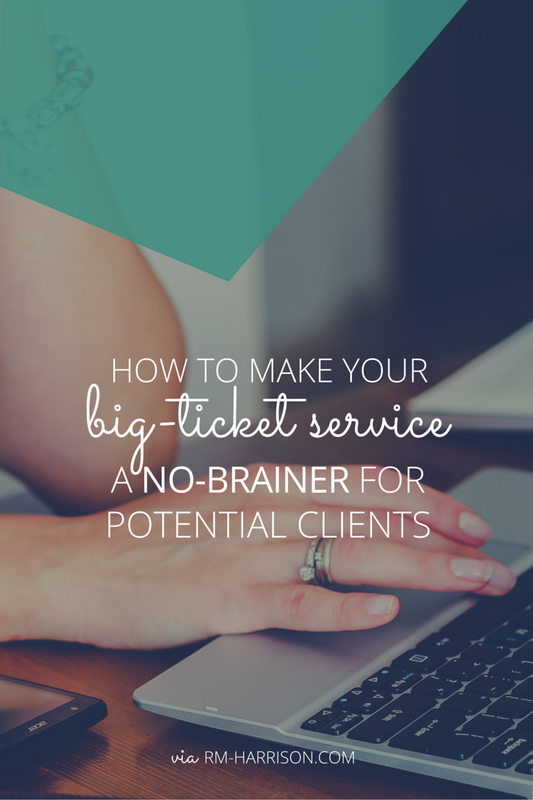 Do your potential clients get crazy excited about working with you, but then balk at the price? Here's how to overcome this roadblock and make the investment a no-brainer for them.