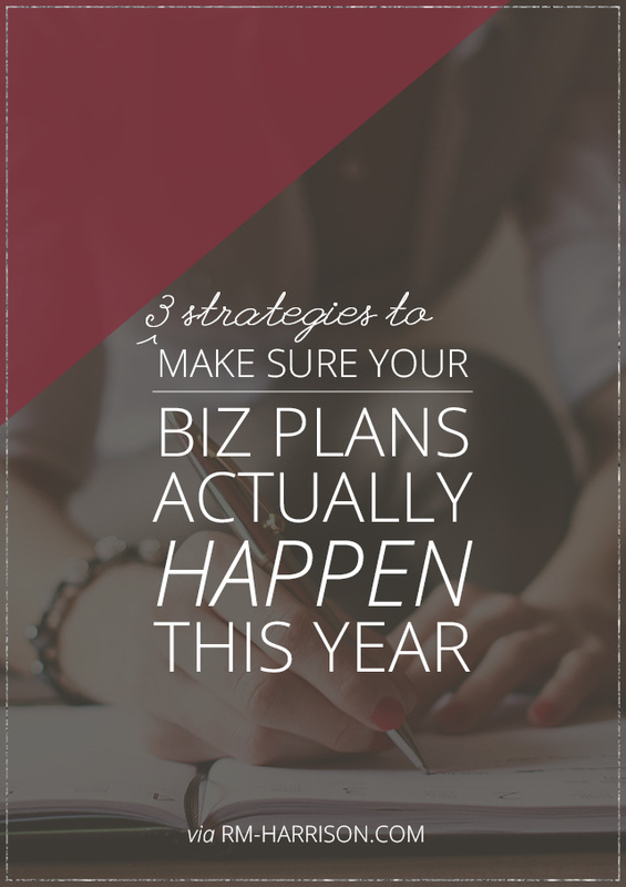 Even if your plans went sideways this year, you can still get your business back on track. Here are 3 things you can do to make it so. | RM-Harrison.com #businessadvice #smallbiz #goalsetting #makeithappen