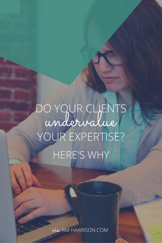 If you've ever had experiences with clients that made you wonder why they even bother paying you if they don't really value your expertise, you should read this.